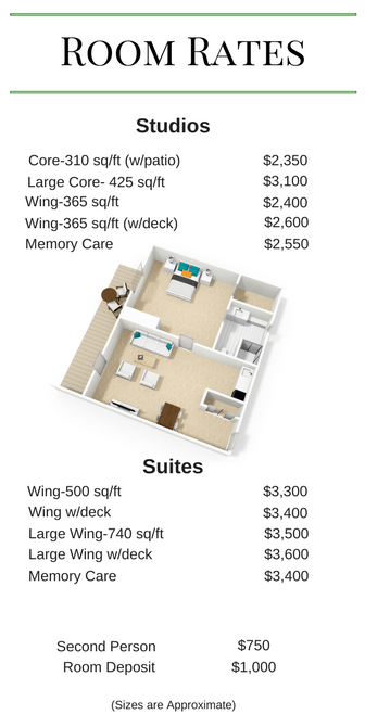Village Room Rates Web