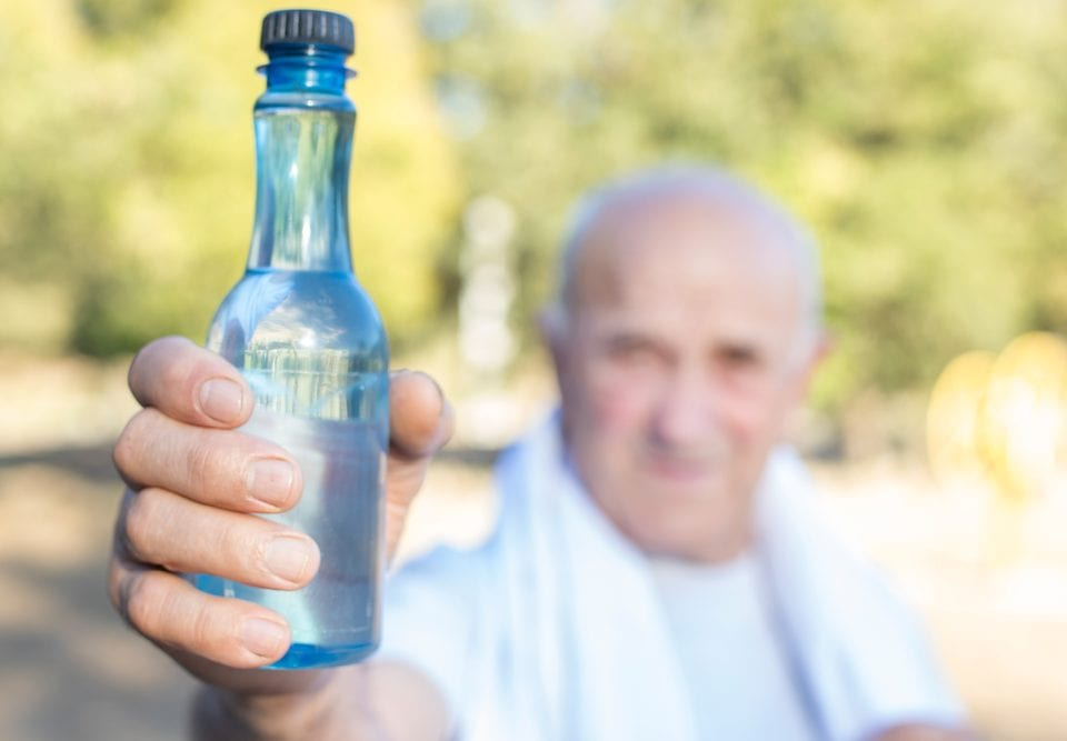 limiting dehydration risks seniors