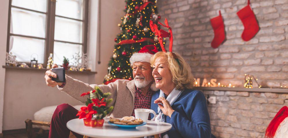 senior-involved virtual holiday celebrations