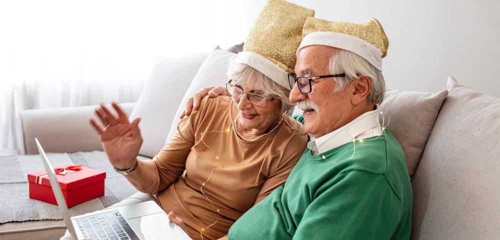 3 senior virtual holiday party