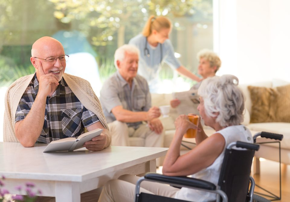 senior living search variables