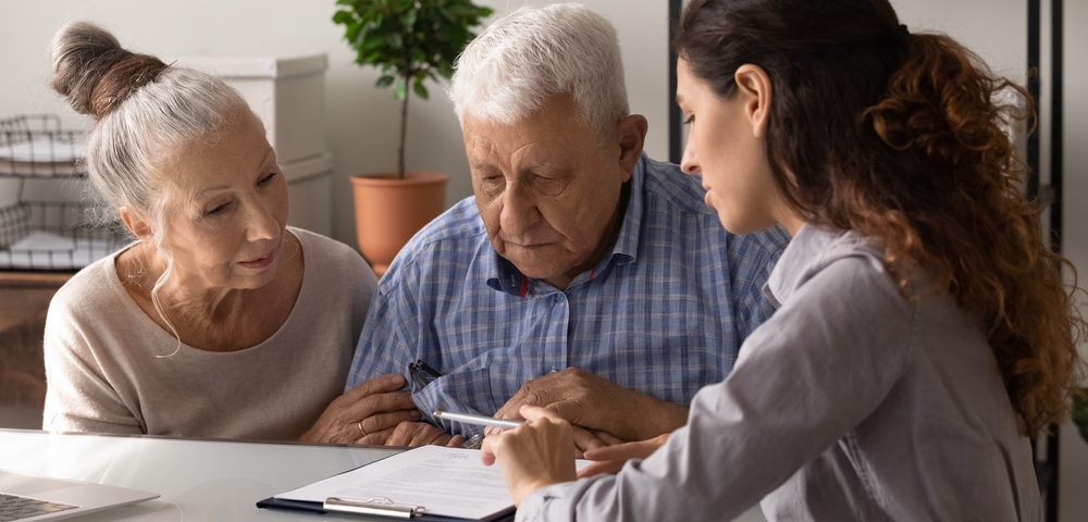 financial conversations senior loved one