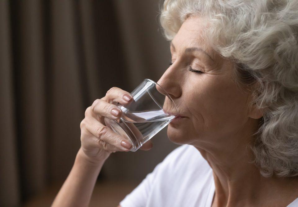 preventing senior dehydration